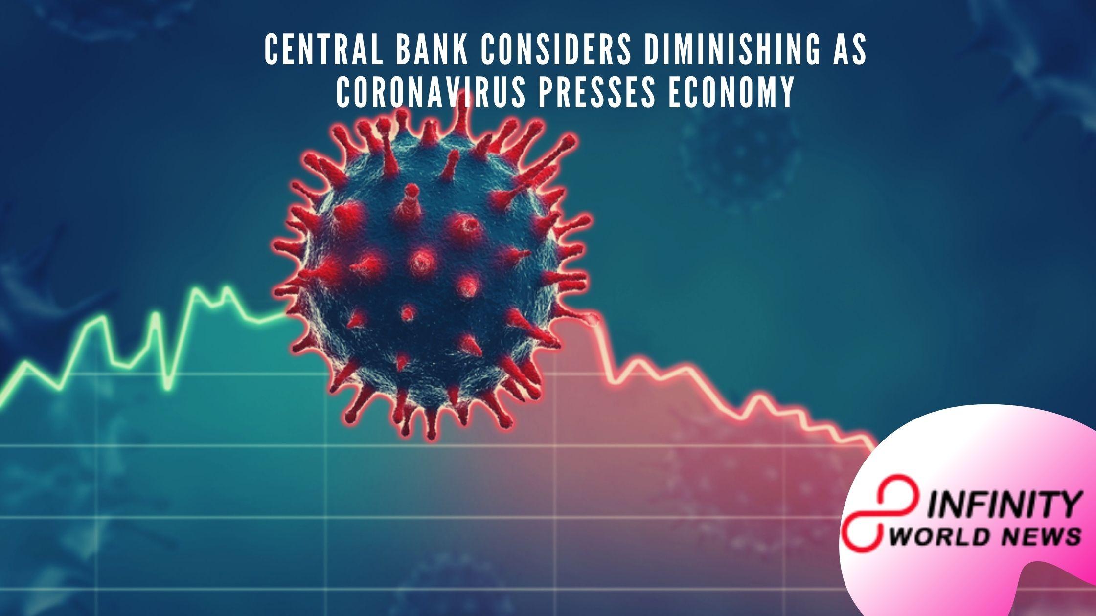 Central bank considers diminishing as coronavirus presses economy