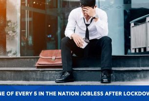 One of every 5 in the nation jobless after lockdown