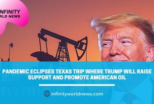 Pandemic eclipses Texas trip where Trump will raise support and promote American oil