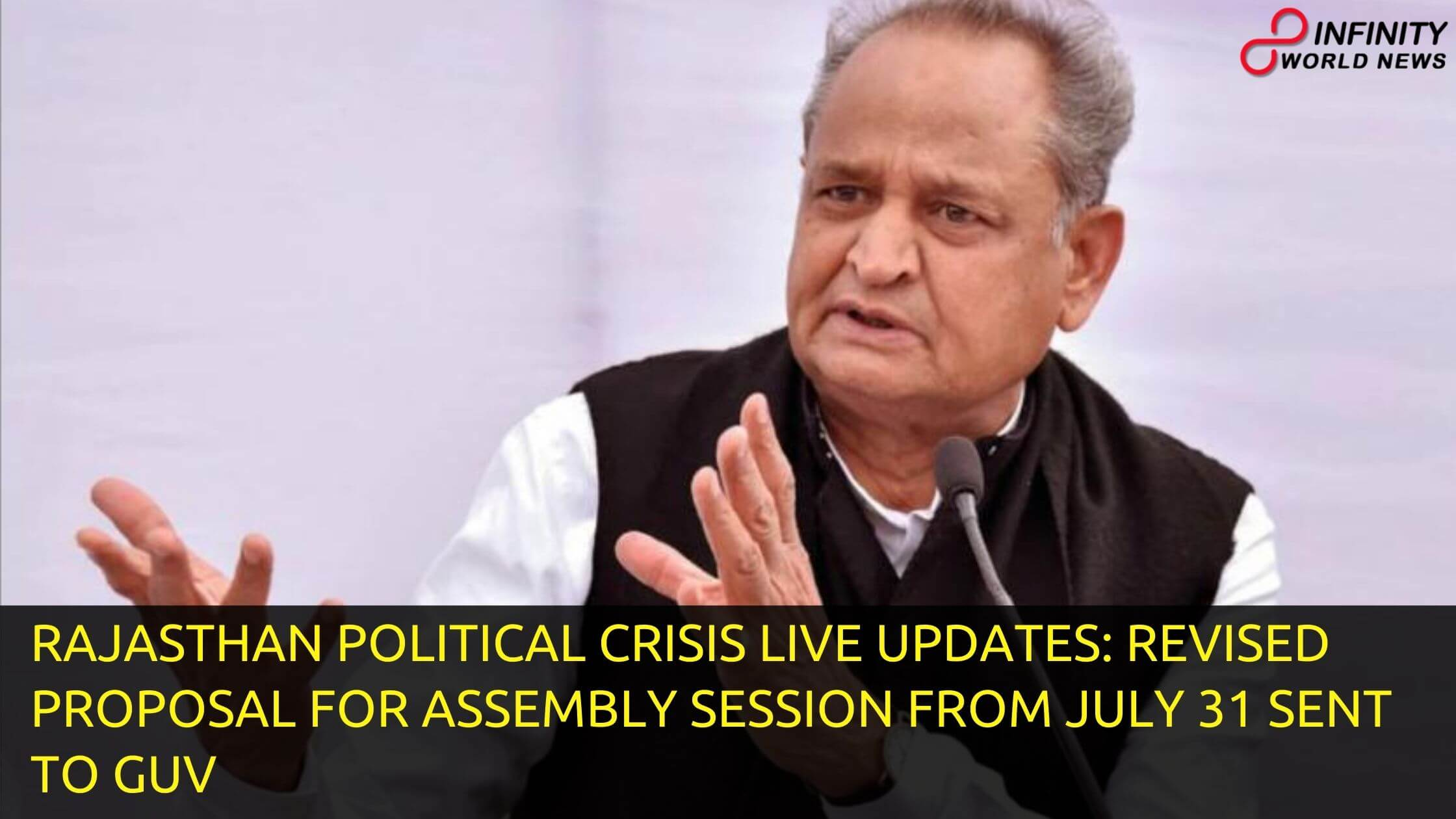 Rajasthan Political Crisis LIVE Updates: Revised Proposal for Assembly Session from July 31 Sent to Guv