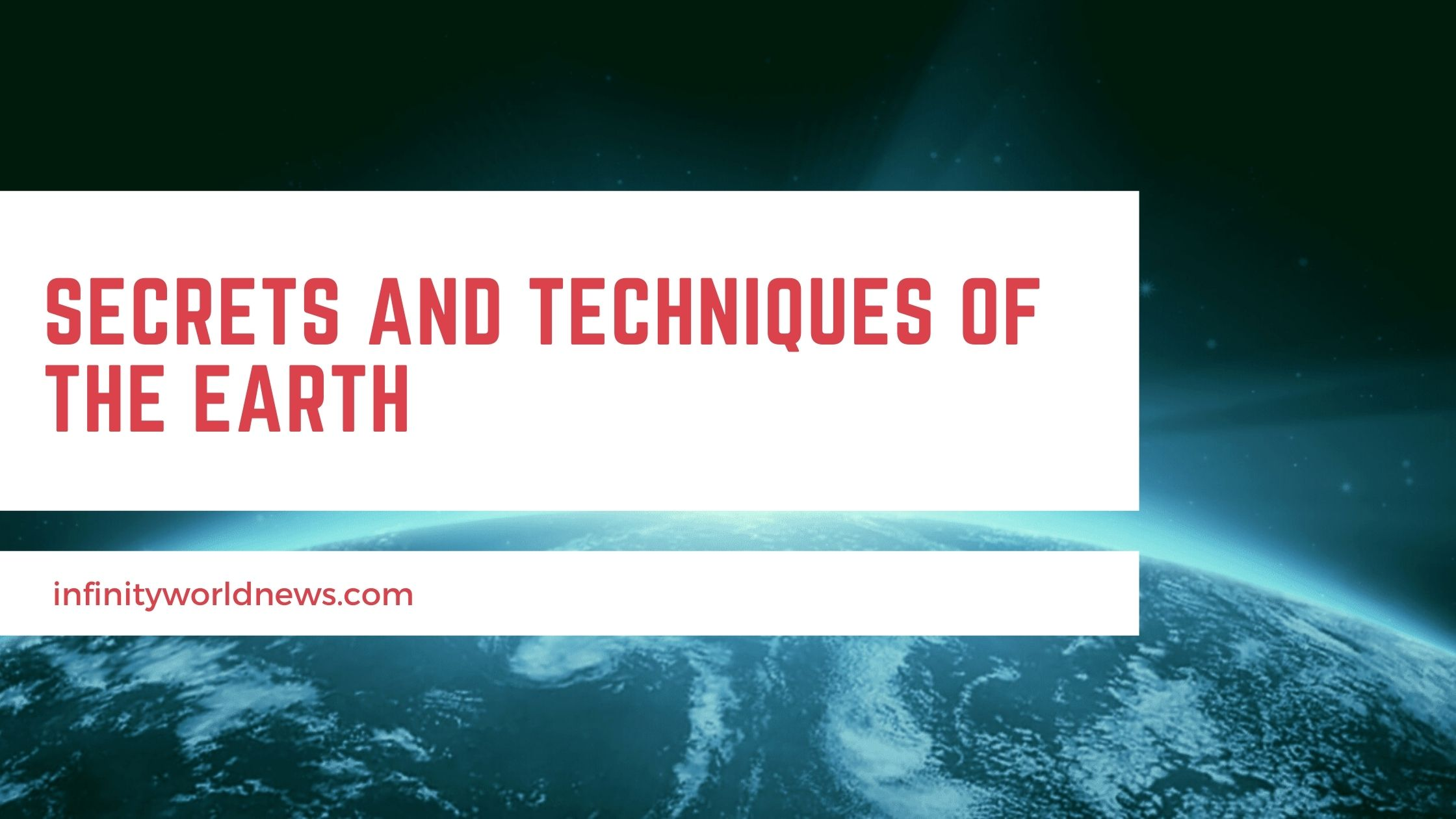 Secrets And techniques of the earth