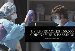 US approaches 150,000 coronavirus passings
