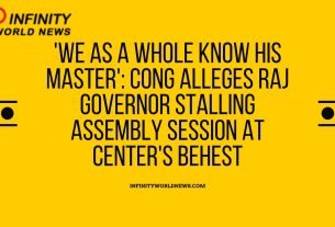 'We as a whole Know His Master'_ Cong Alleges Raj Governor Stalling Assembly Session at Center's Behest