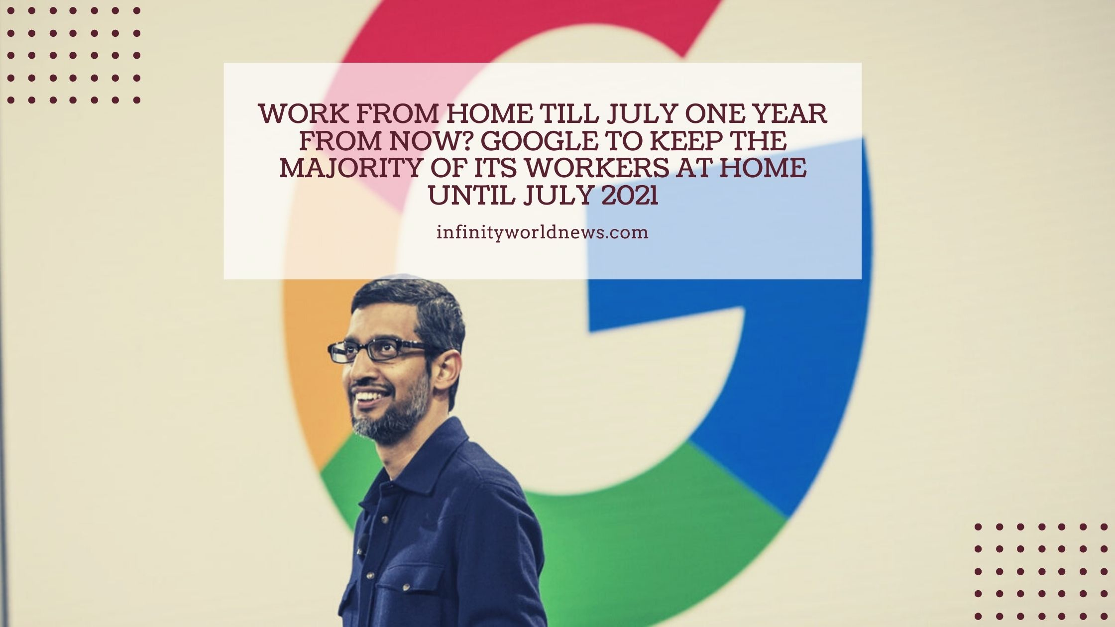 Work from home till July one year from now_