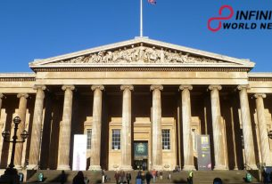 British Museum experiences cleaning to expel lockdown dust.