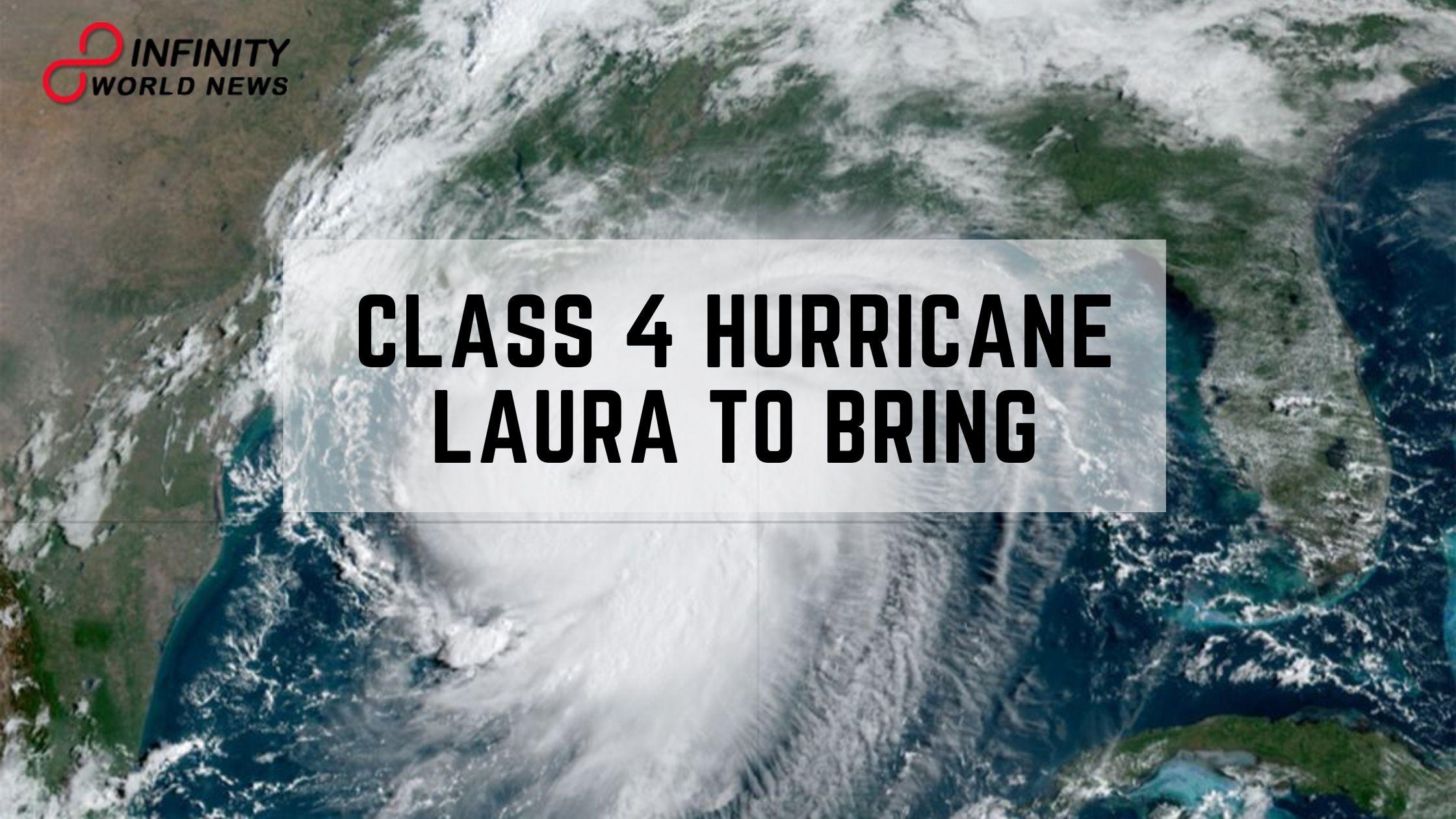 Class 4 Hurricane Laura to Bring 'Unsurvivable' Storm Surge, 'Cataclysmic Damage'