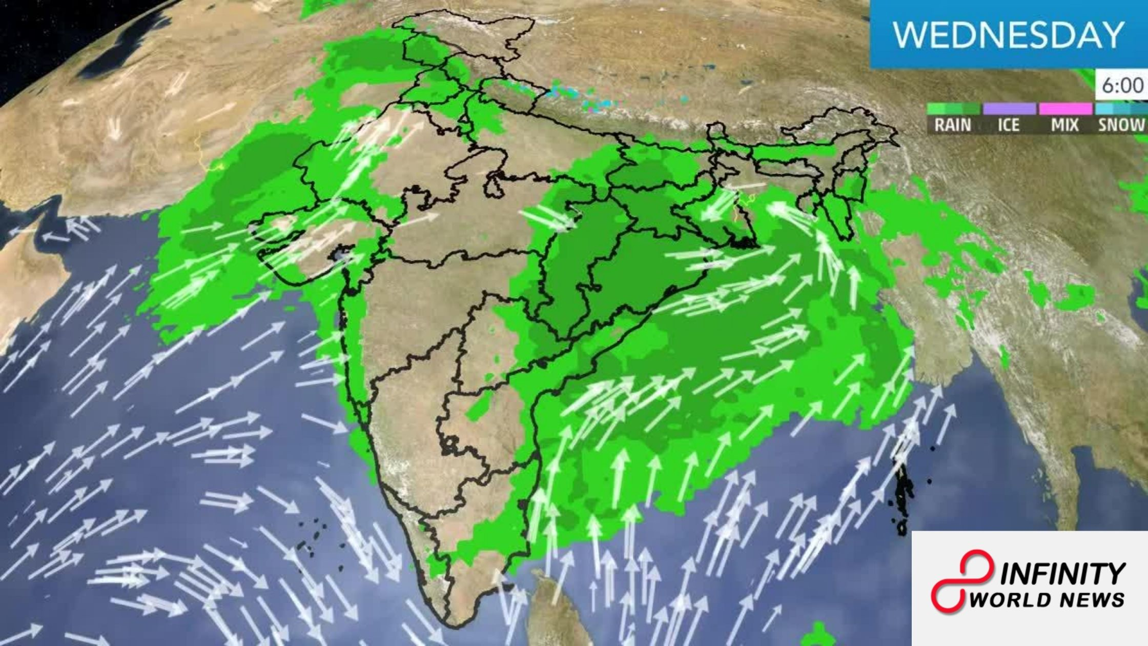Climate UPDATE AND FORECAST FOR AUGUST 26 ACROSS INDIA