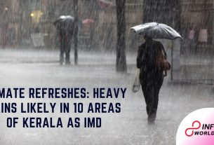 Climate refreshes Heavy rains likely in 10 areas of Kerala as IMD