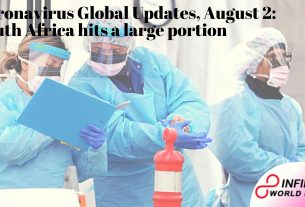 Coronavirus Global Updates, August 2_ South Africa hits a large portion