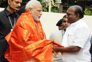 DMK MLA, suspended for commending PM Modi, visits BJP office in Chennai