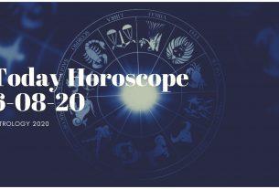 Daily Horoscope Today Horoscope 6-08-20 Astrology 2020