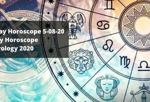 Daily Horoscope _ Today Horoscope 5-08-20 _ Astrology 2020
