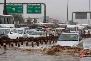 Delhi climate today_ Heavy rains lash portions of NCR; to proceed for two days