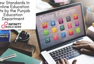 New Standards In Online Education sets by the Punjab Education Department