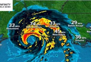 Tropical storm Laura causes extreme harm and floods as it hitters Louisiana