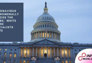 U.S. coronavirus 'phenomenally across the board,' White House specialists state