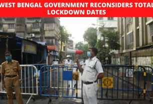 West Bengal government reconsiders total lockdown dates