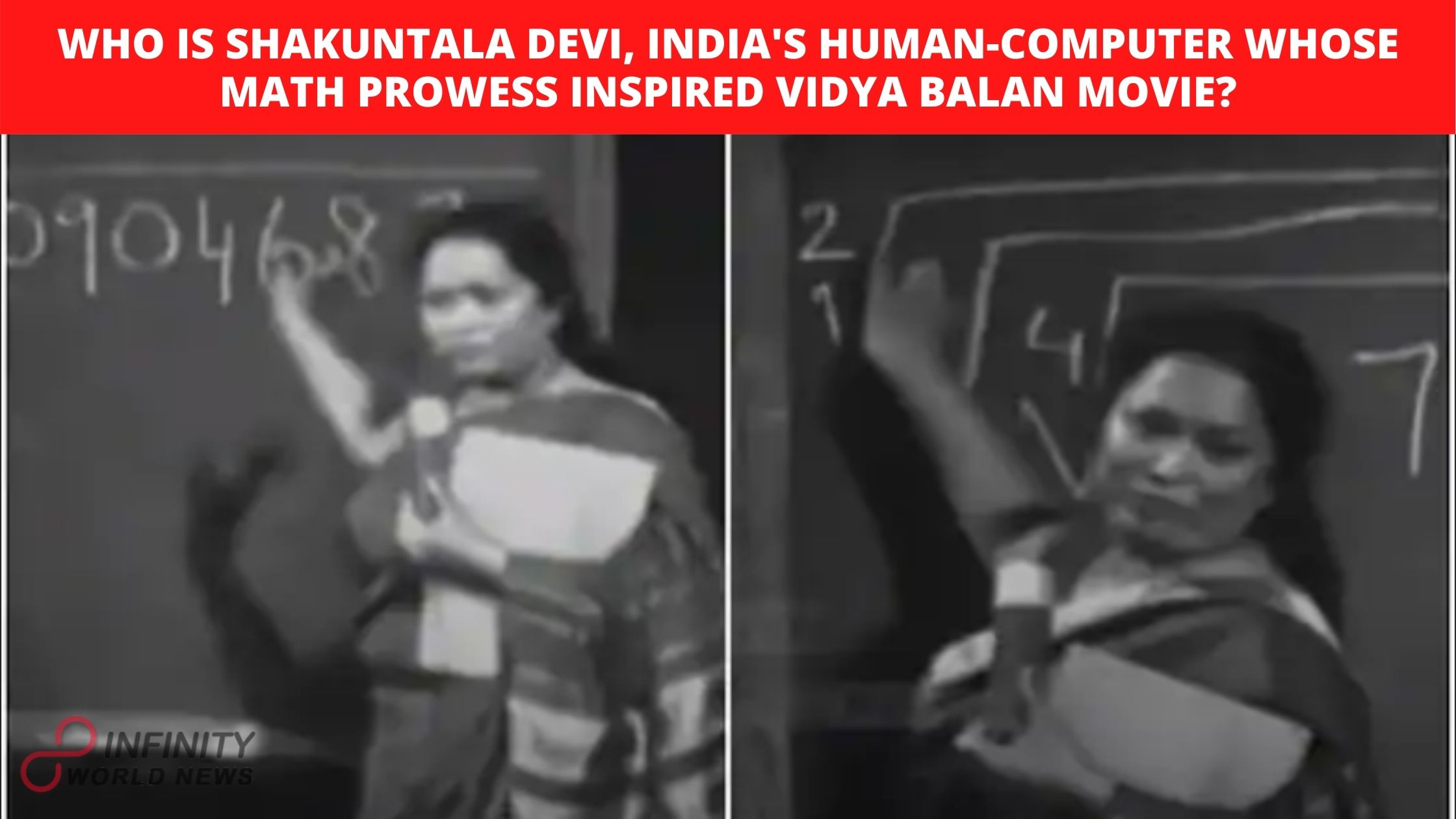 Who Is Shakuntala Devi, India's Human-Computer Whose Math Prowess Inspired Vidya Balan Movie