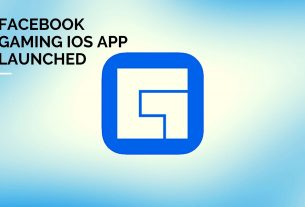 Without Mini-Games Section Facebook Gaming iOS App Launched