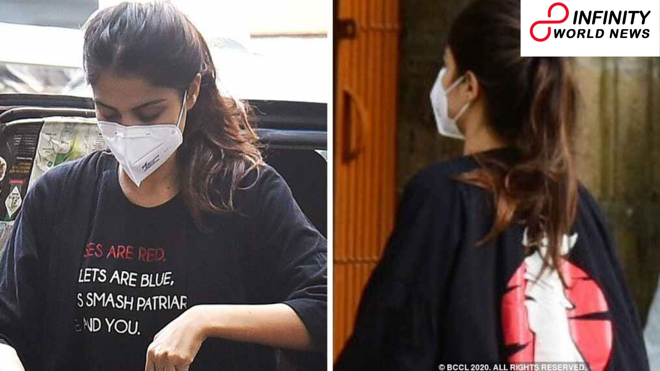 Organization That Sold Rhea Chakraborty's 'Roses Are Red' T-Shirt Are Stocking Up After it Goes Viral.