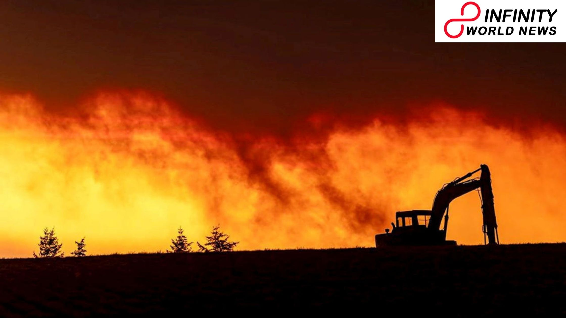 US fierce blazes fuelled by environmental change, California governor says