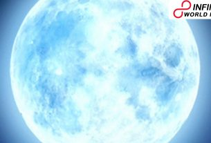 Blue Moon ascends on October 31