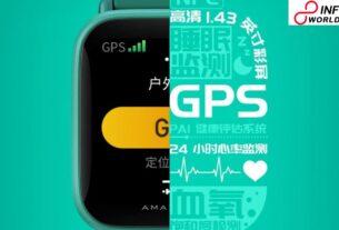 Amazfit Pop Pro Smartwatch Estimated to Launch December 1