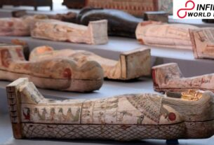 Archaeologists Discover Over 100 Intact Sarcophagi into Egypt