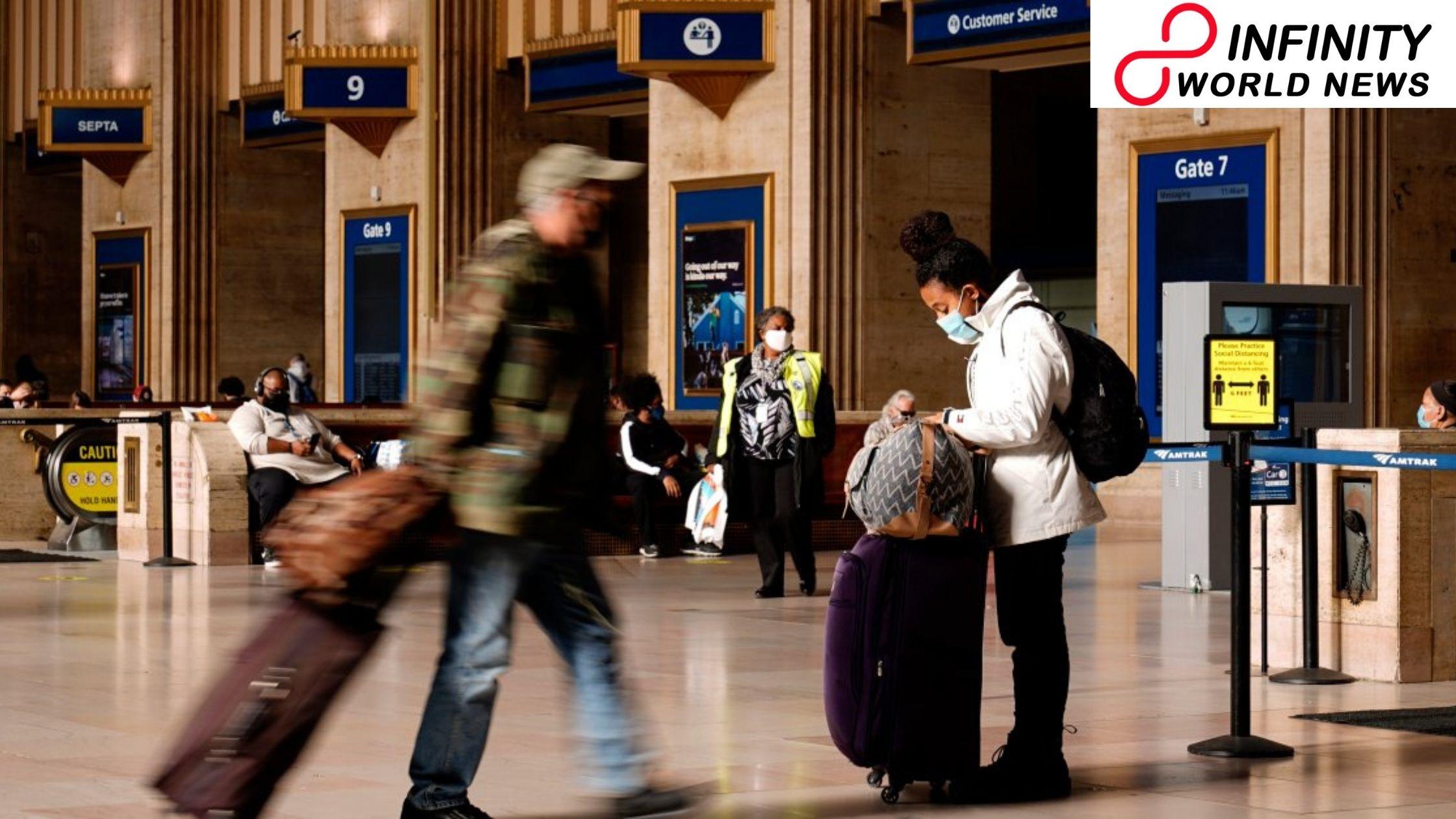 Covid Millions travel for Thanksgiving despite alerts