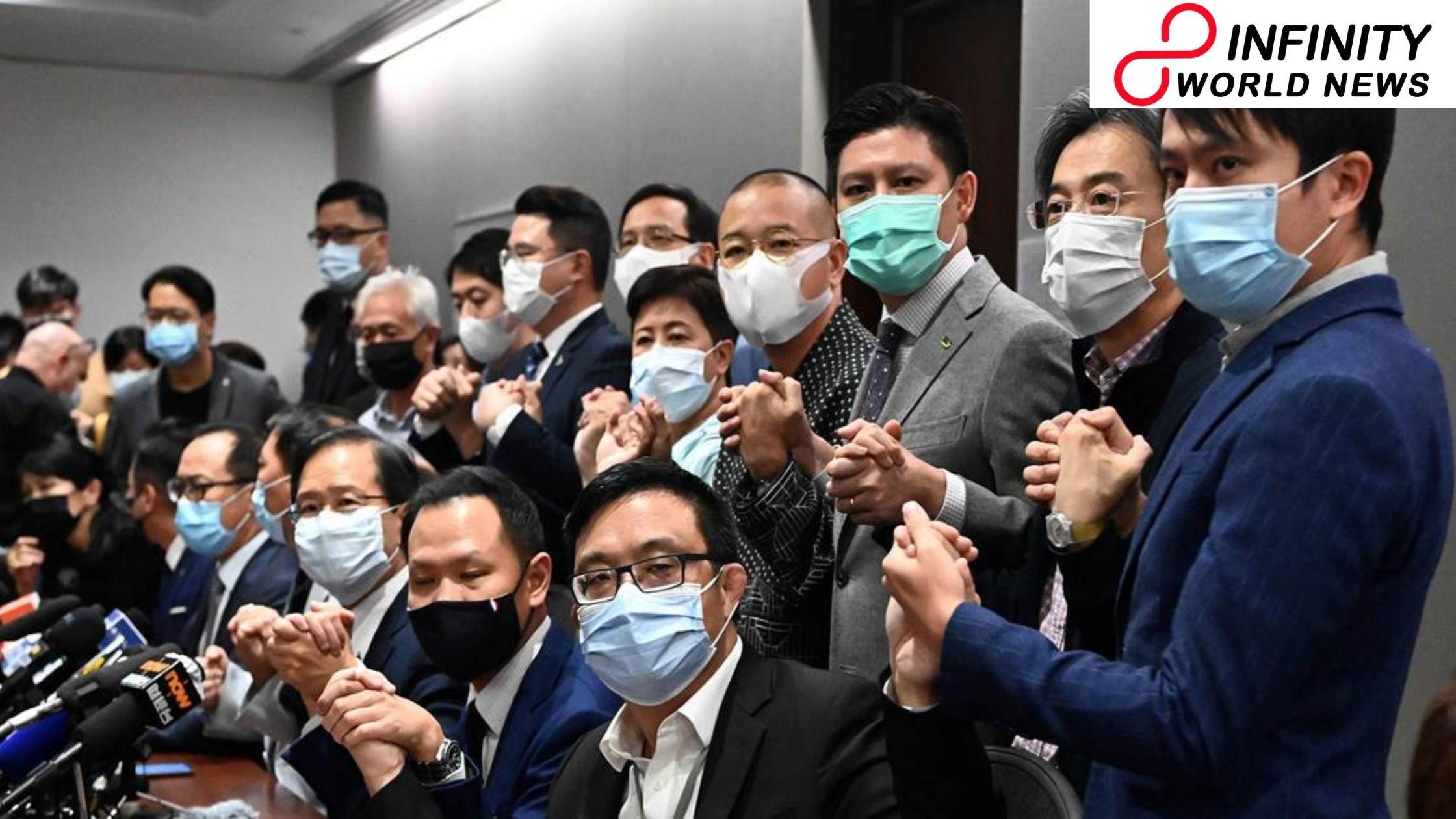 Hong Kong Defiant Hong Kong resistance denounced by China