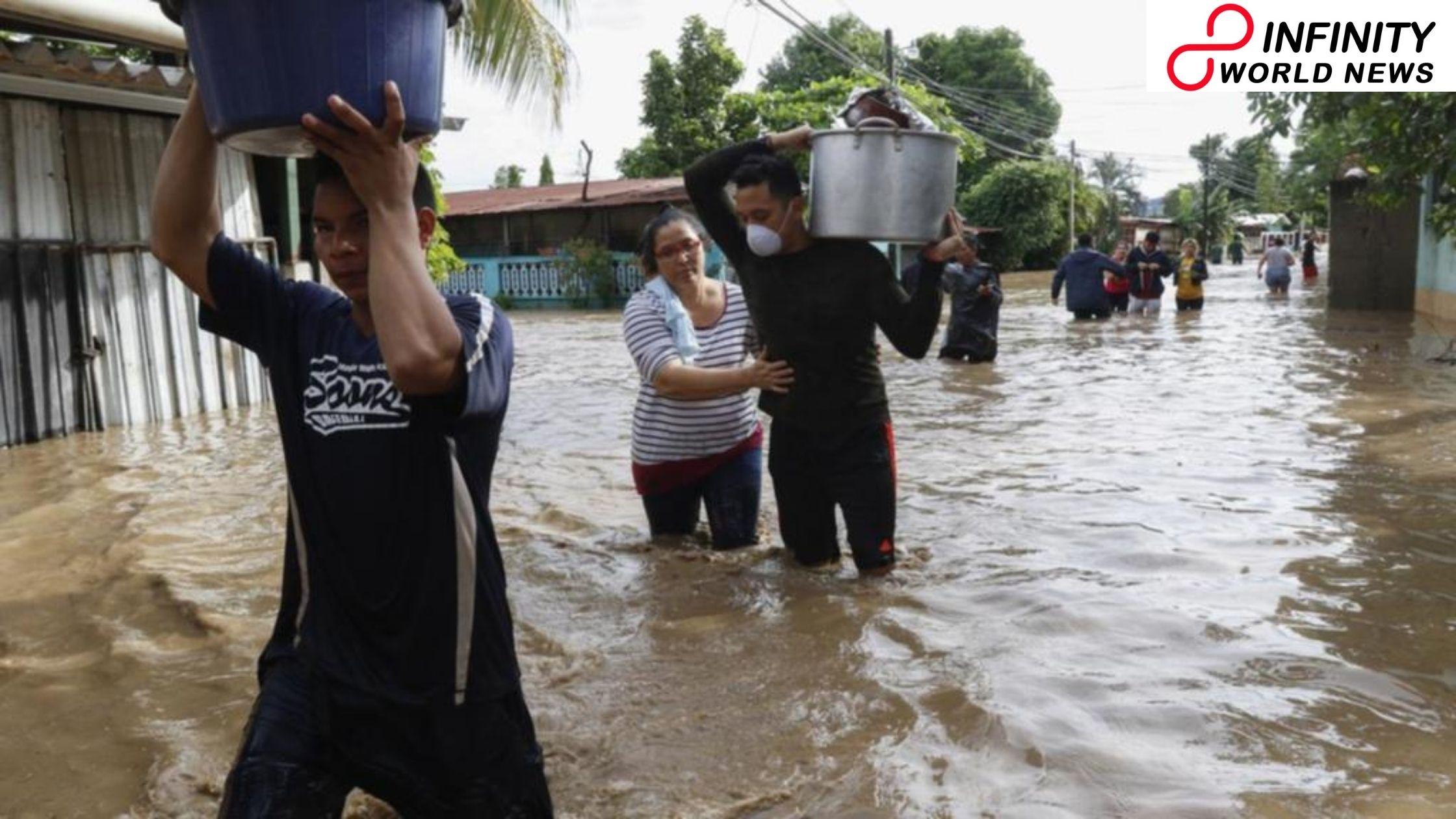 Hurricane Iota structures could follow Etas fatal way