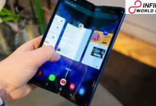 Illustrations Showing Brand New Foldable Phones for the Future Shares By Samsung
