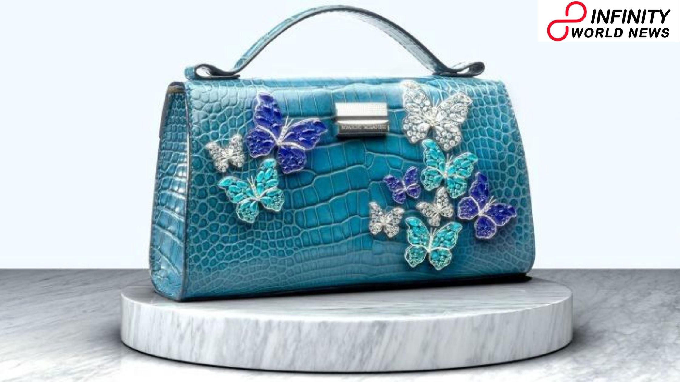 Italian brand dispatches Rs 52 crore worth handbag set with jewels and uncommon pearls