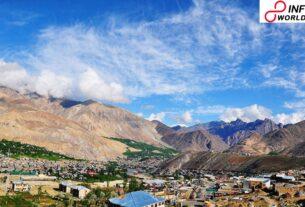 Leh Freezes at12.9 Mercury Dips Crossed Jammu and Kashmir