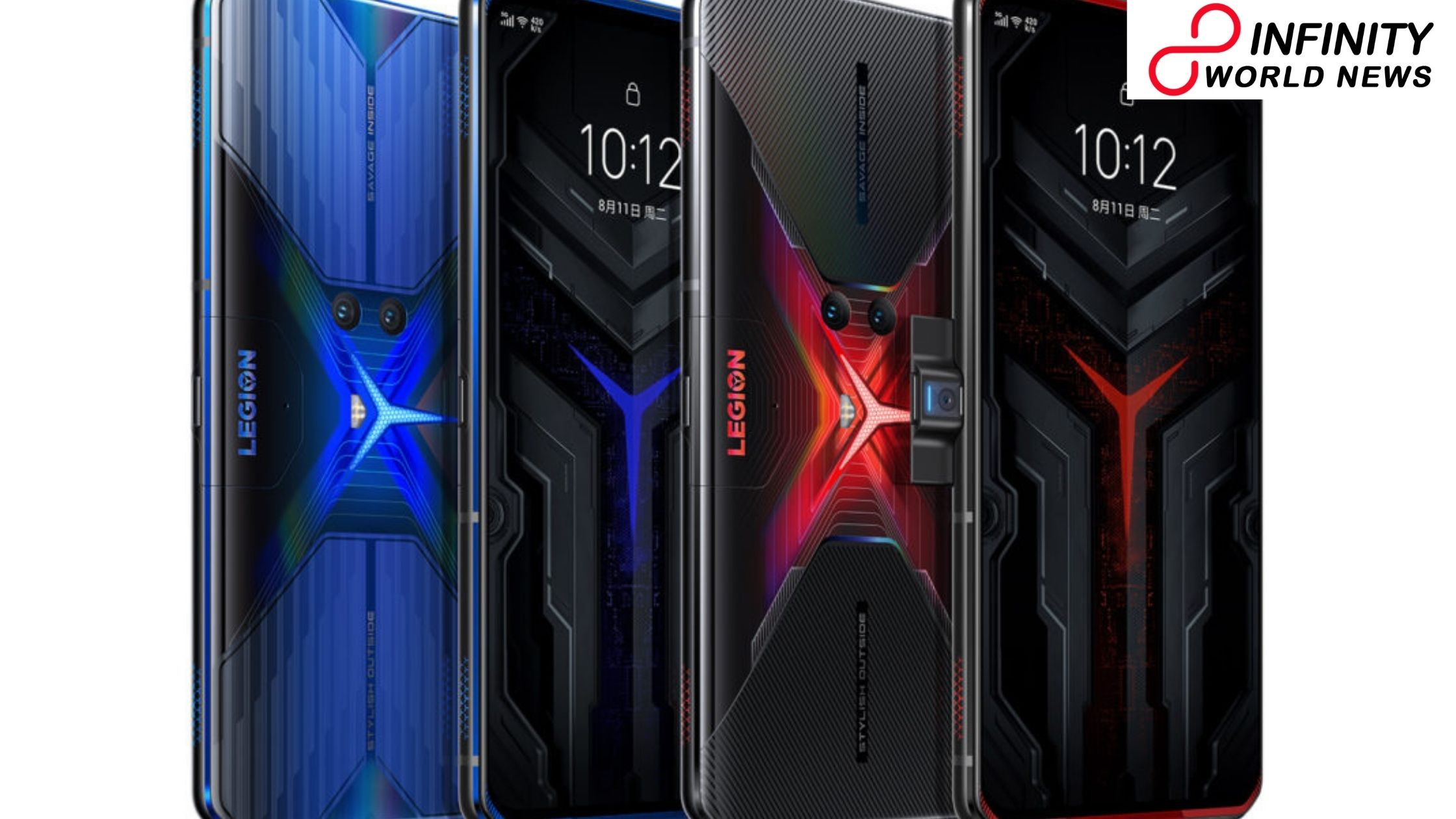 Lenovo Legion Phone Duel including Snapdragon 865 plus SoC Placed