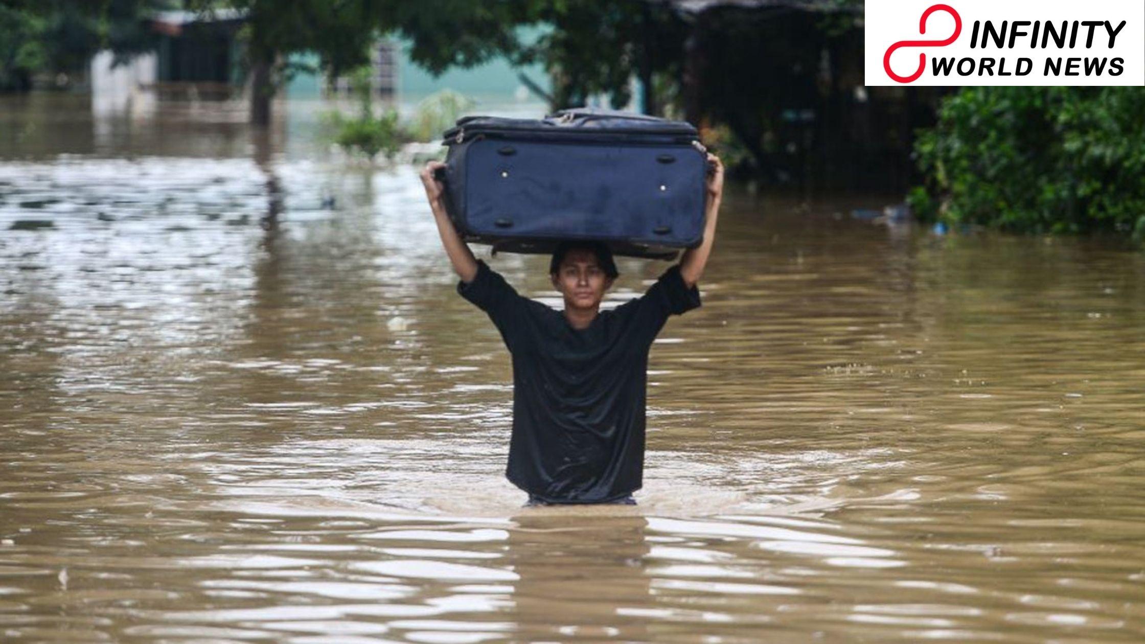 Typhoon Eta Lashes Honduras in the US