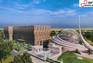 In first Pics, A Impression Of Futuristic Ayodhya Mosque And Hospital Plan