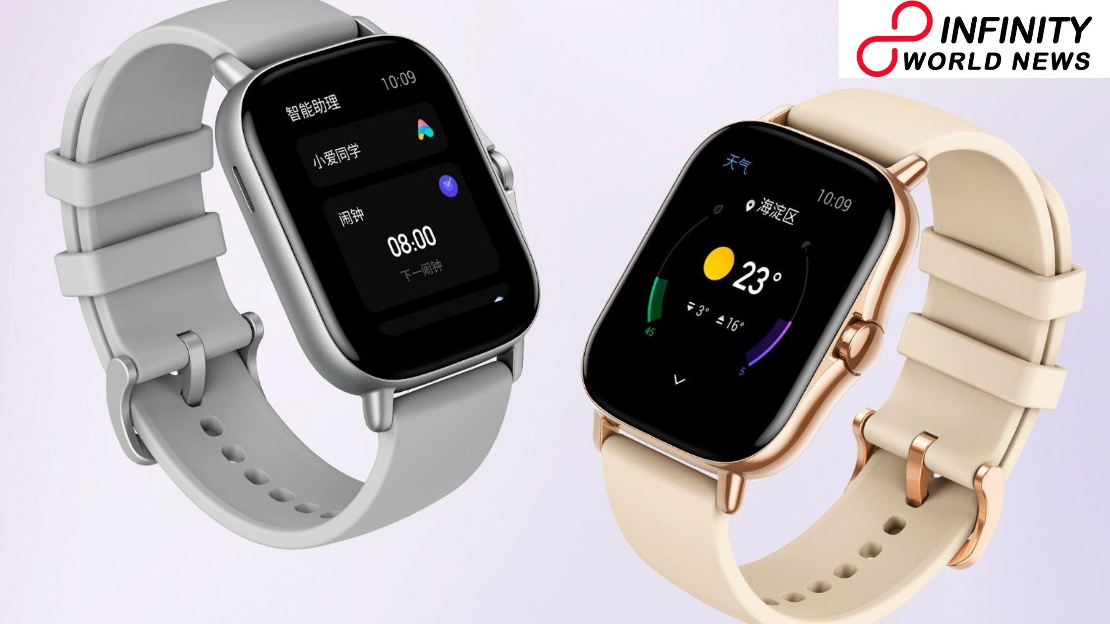 Amazfit GTS 2 Mini Smartwatch Pre-Booking Begins in India