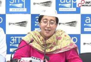 AAP pioneers Atishi Marlena, Raghav Chadha, confined in front of fights against NDMC 'debasement'