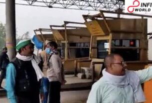 Farmers Occupy Tolls, Permit Vehicles To Cross Without Paying Fee