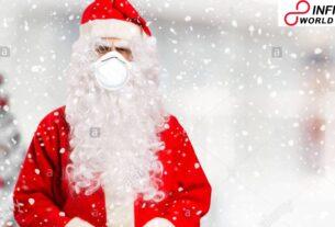 In Belgium Corona-tainted Santa Claus dispersed presents