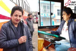 Jammu s First Female Bus Driver