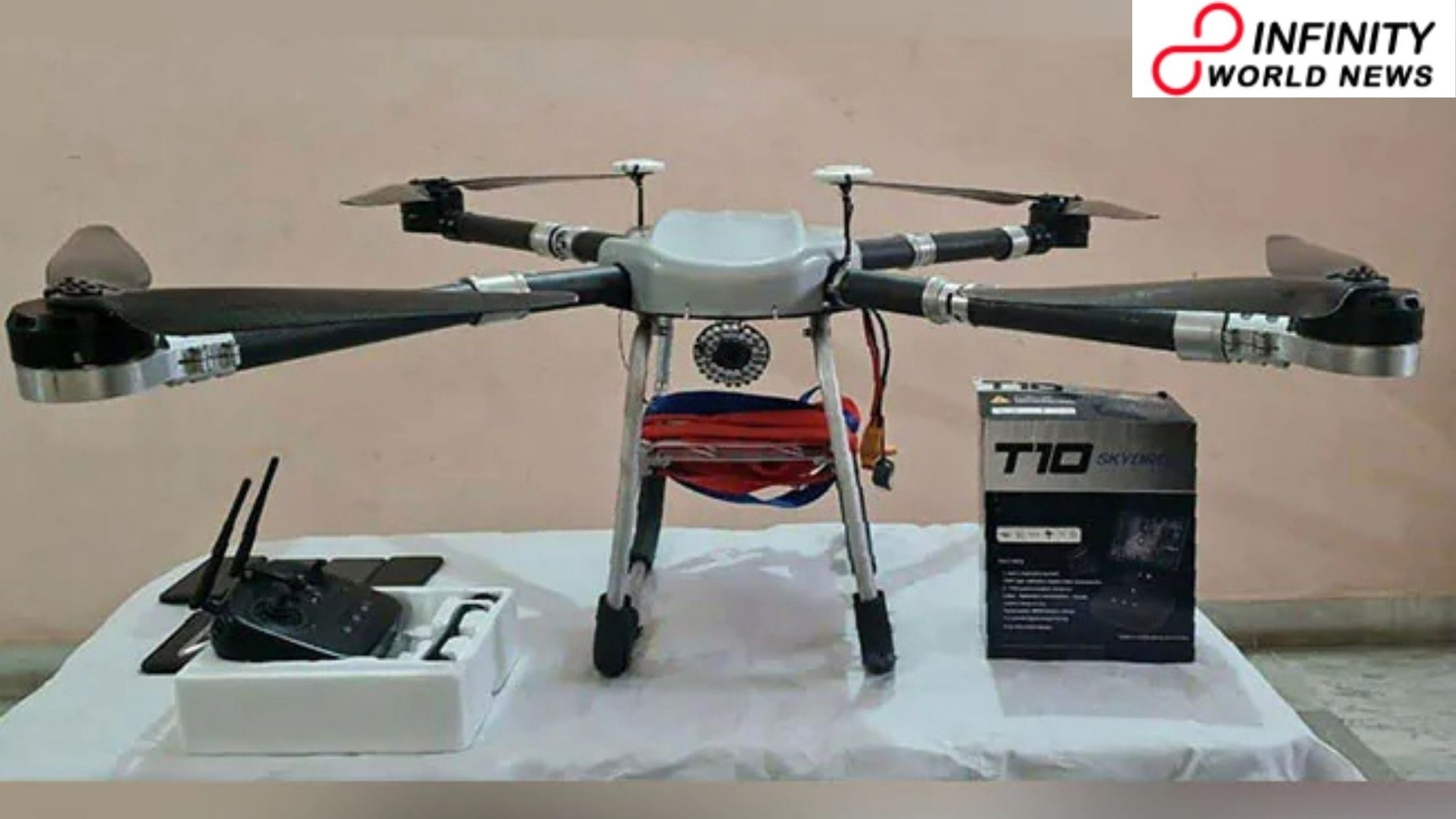 Quadcopter Drone Team Flew Weapons, Drugs Of Pak, Captured In Punjab