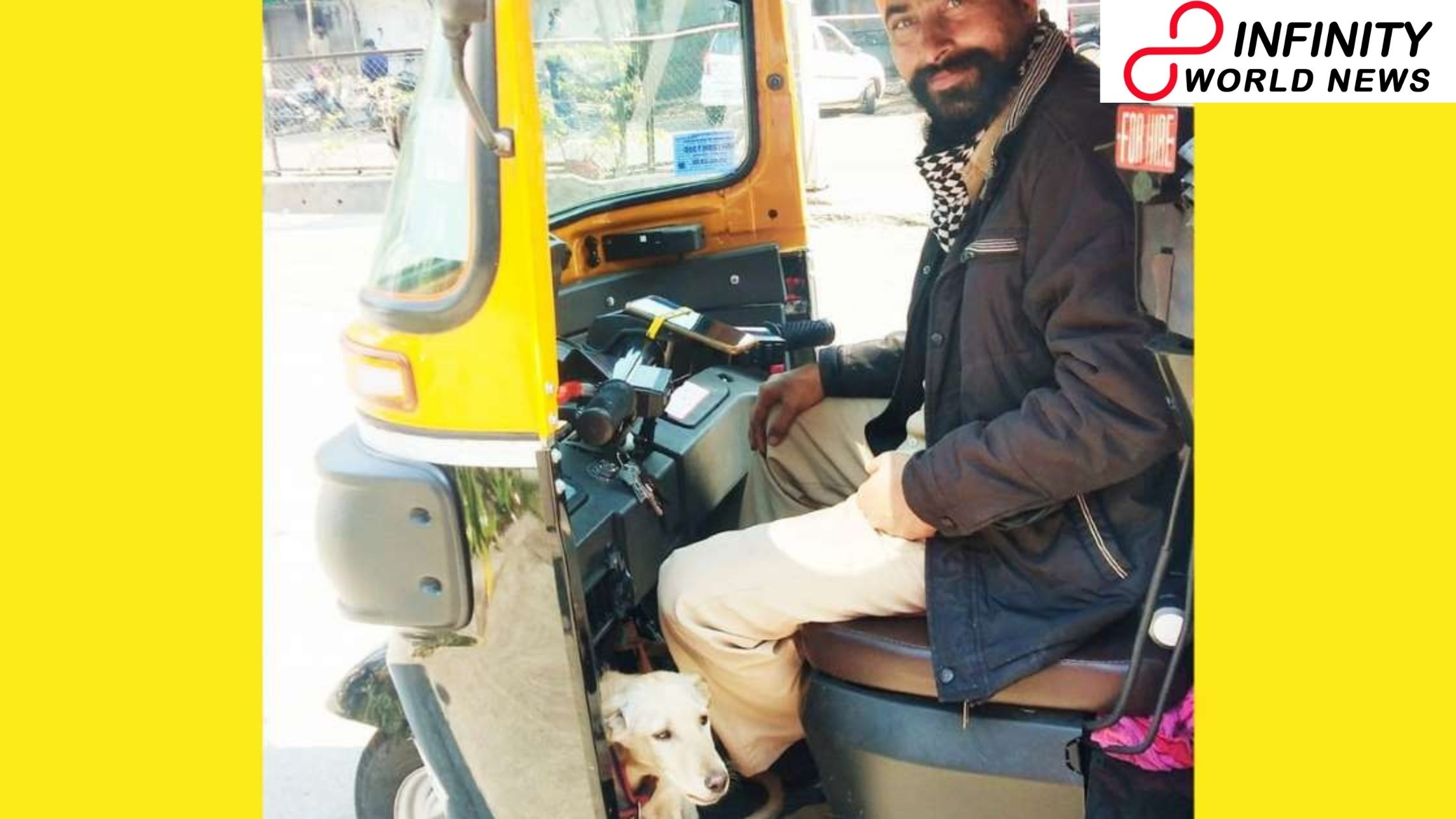 'Santa Clause in Real Life': Auto-Rickshaw Driver Takes his Paw Friend to Work every day, Wins Hearts on Internet