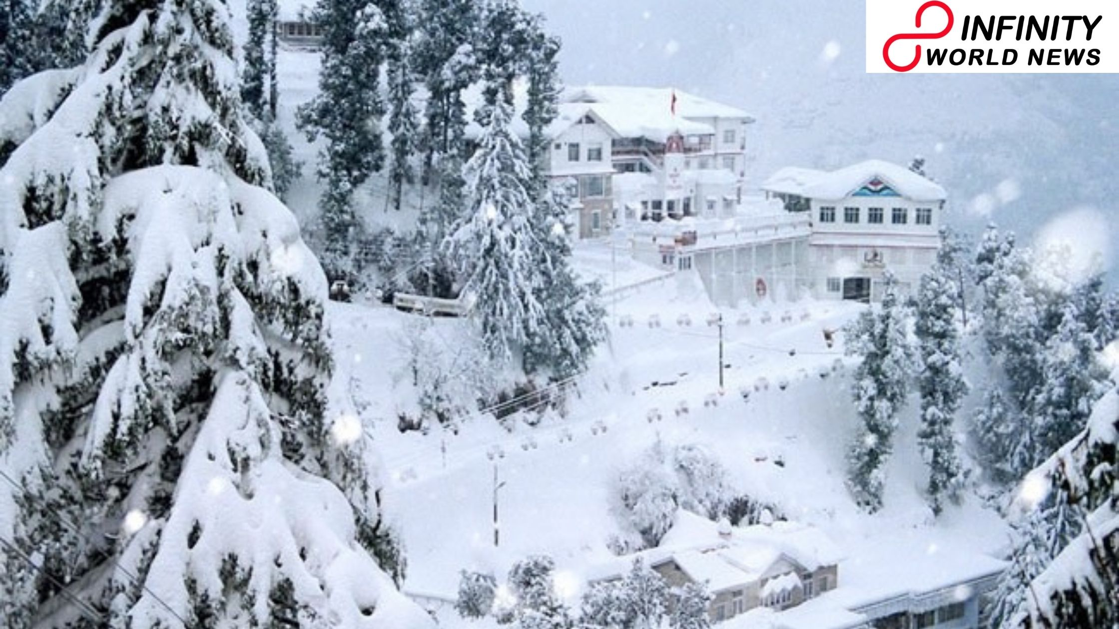Shimla climate Season s first snowfall carries cheer to vacationers
