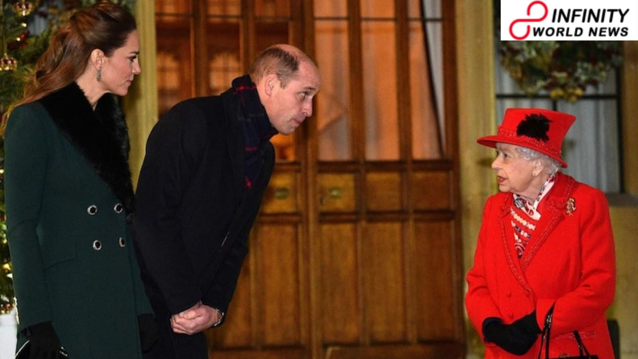 Sovereign William says farewell to the best to his gran the Queen