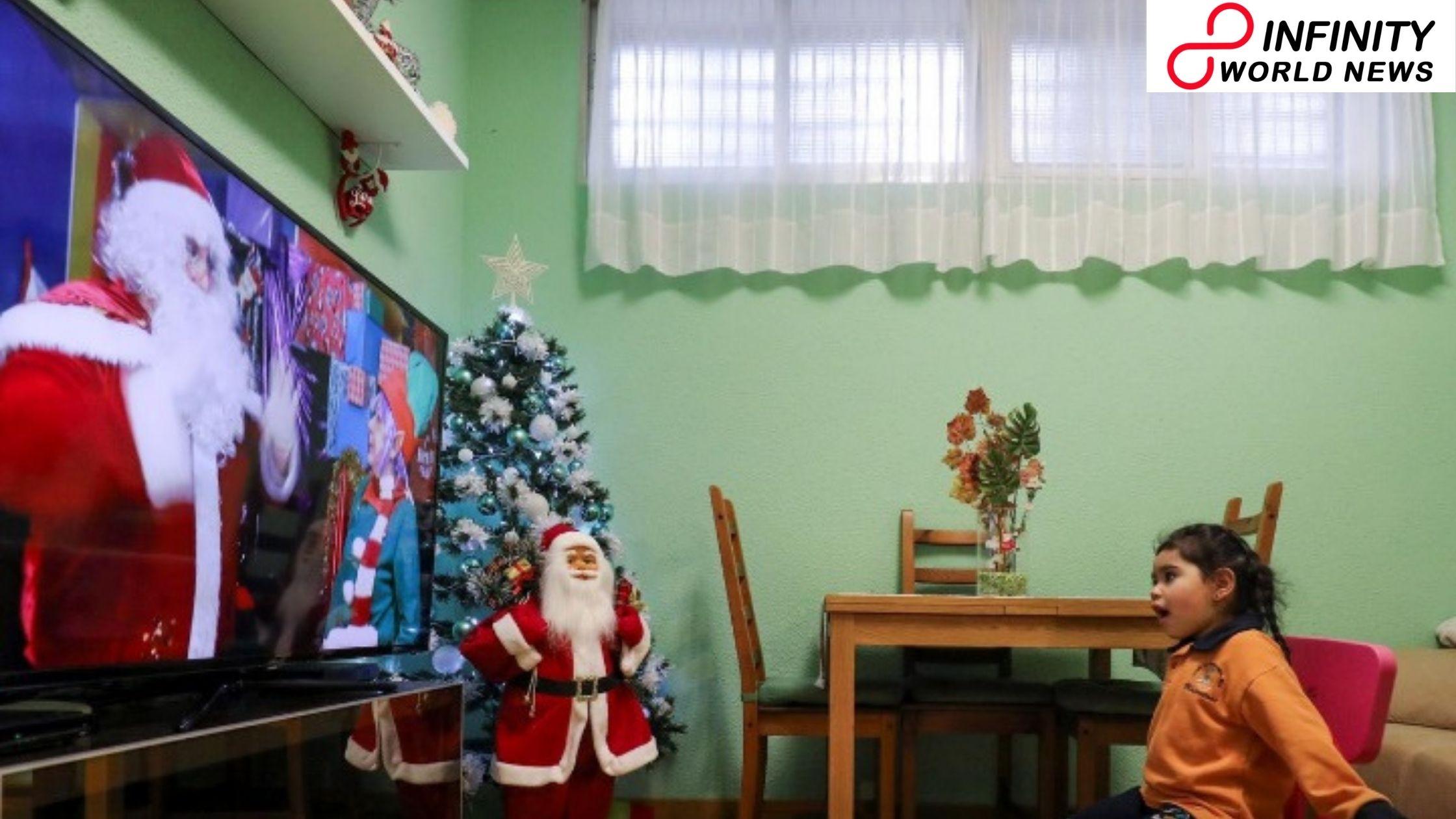 Virtual Santa Goes Viral because of Pandemic in Spain