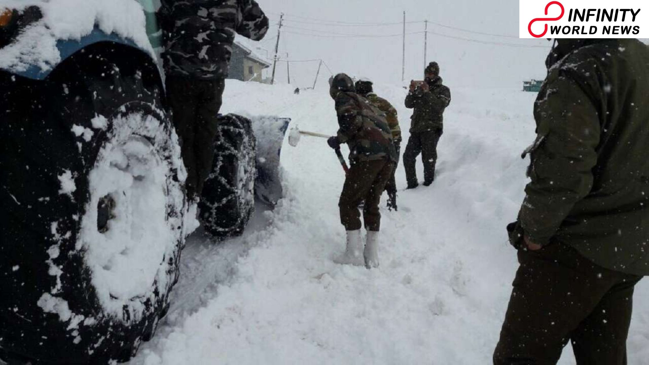 Most recent climate update: Cold conditions endure in north India; Kashmir gets new snowfall