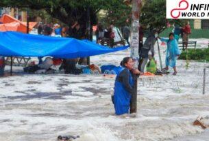 Dangerous glimmer floods tear through Bolivia's Sucre city