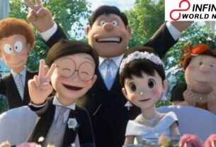 Doraemon trends around the world, fans go into a meltdown after film banner uncovers Nobita's wedding to Shizuka
